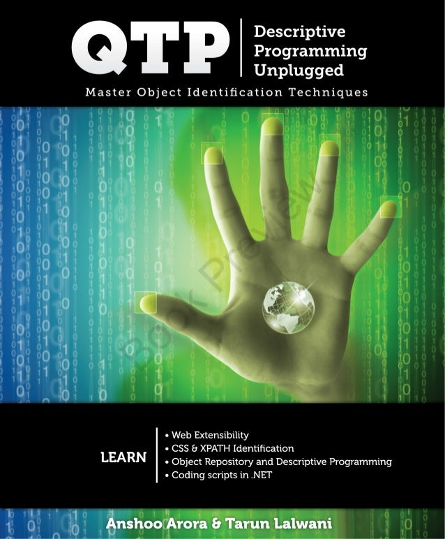 qtp descriptive programming unplugged book rh slideshare net
