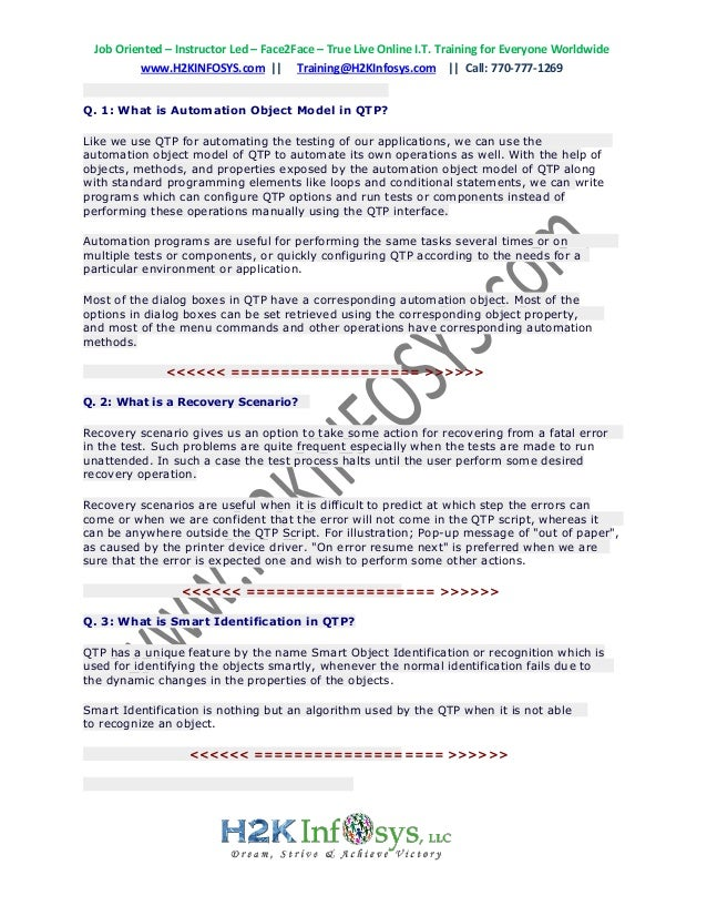 latest qtp interview questions and answers top 200 uft interview qu