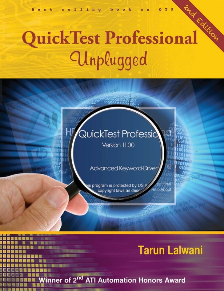 QuickTest Professional      Unplugged       SECOND EDITION