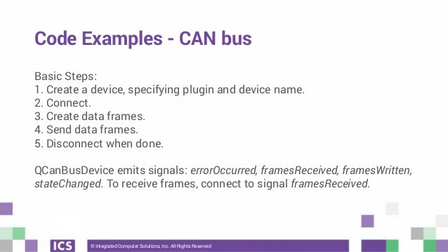 Webinar] QtSerialBus: Using Modbus and CAN bus with Qt