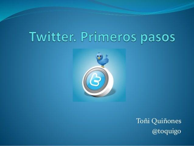 Toñi Quiñones @toquigo