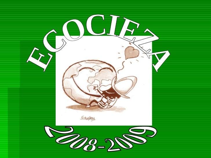 ECOCIEZA 2008-2009