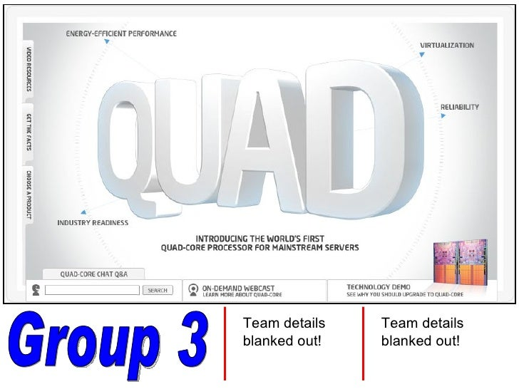 Group 3 Team details blanked out! Team details blanked out!