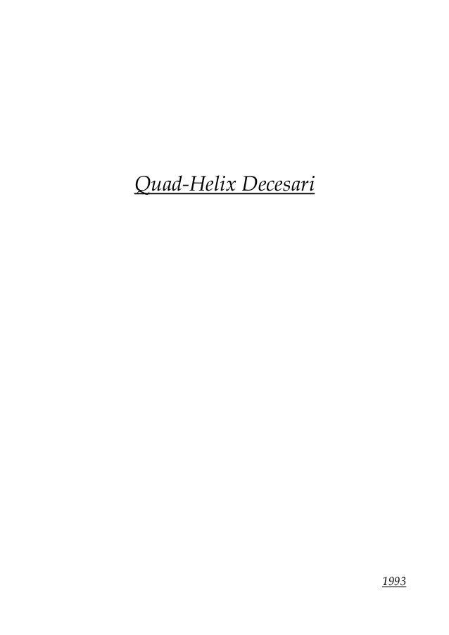 Quad-Helix Decesari 1993