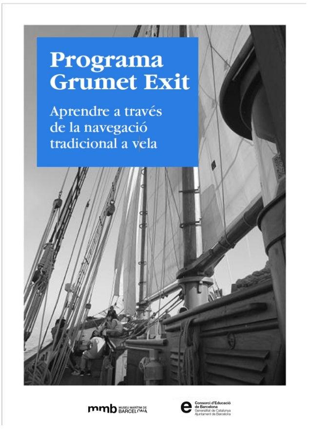 Programa Grumet Èxit Quadern de l'alumnat - 1 -