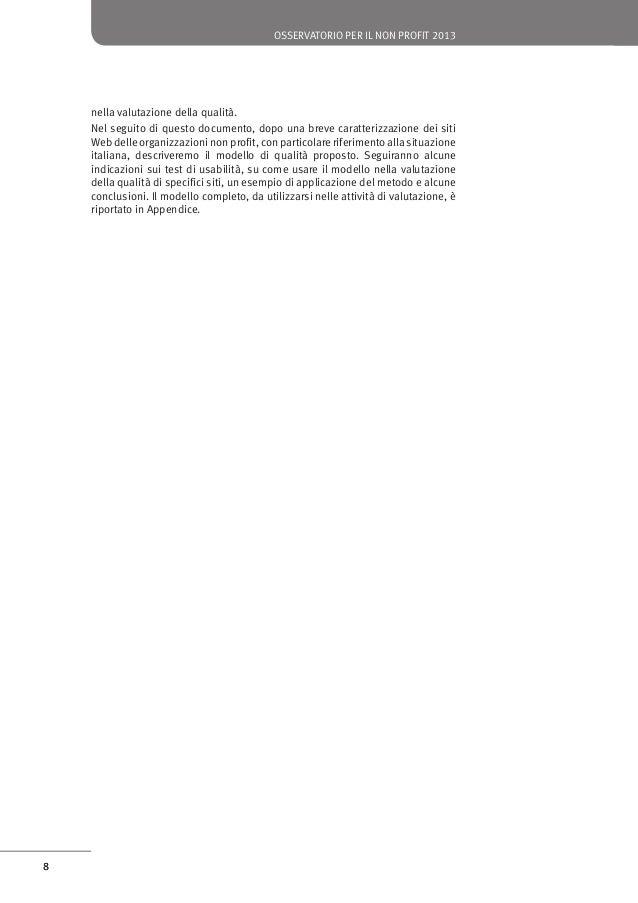 osservatorio per il non profit 2013  10