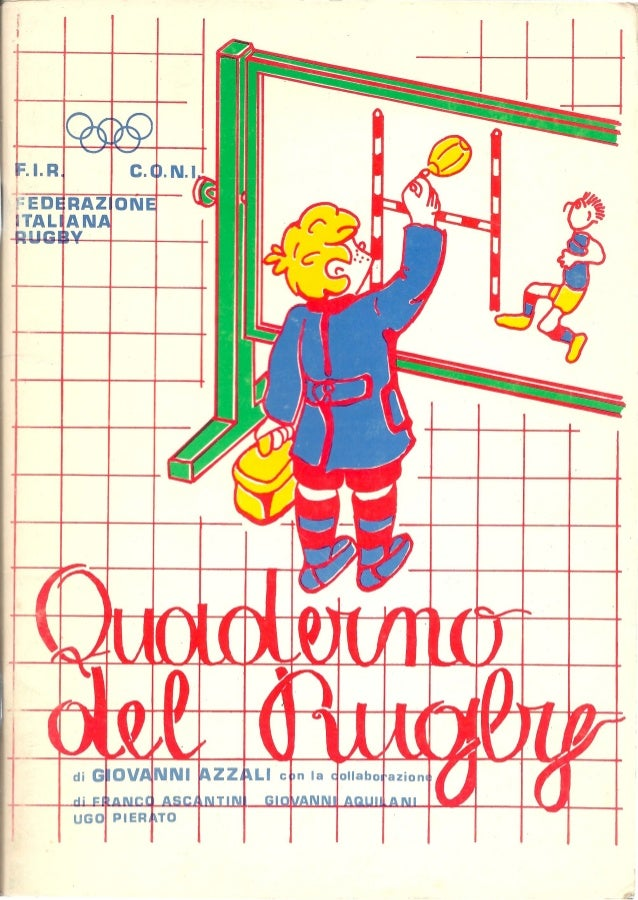 Quaderno del rugby di Giovanni Azzali