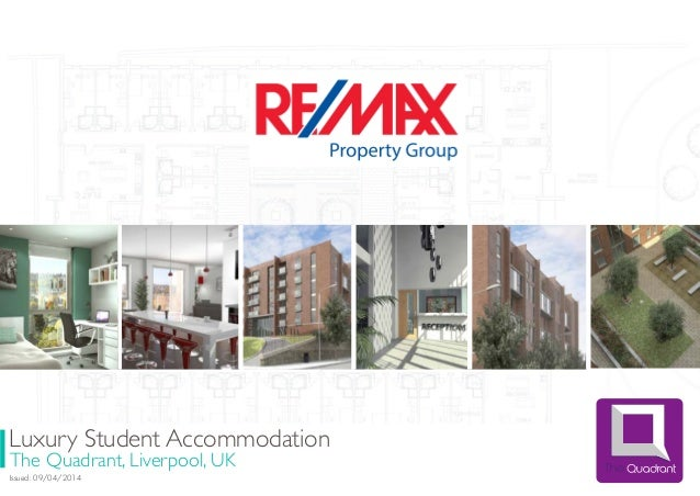 Luxury Student Accommodation The Quadrant, Liverpool, UK Issued: 09/04/2014