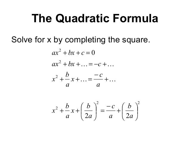 The Discriminant in Quadratic Equations--visual tutorial with ...