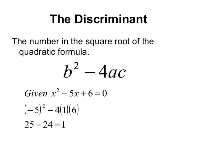 Solving Quadratics by Completing the Square & Quadratic Formula By ...