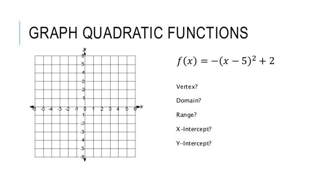 Quadratic Transformations Notes – Graphing Quadratic Functions Worksheet