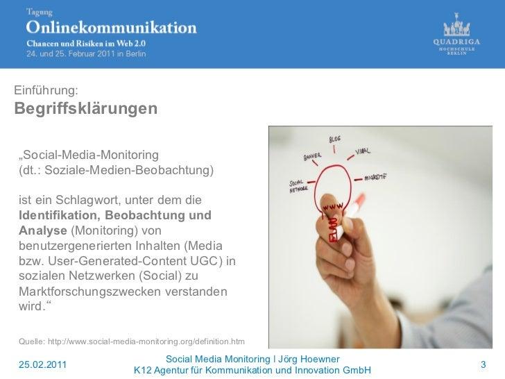 Anwendungen von Analysewerkzeugen im Social Media-Bereich Slide 3