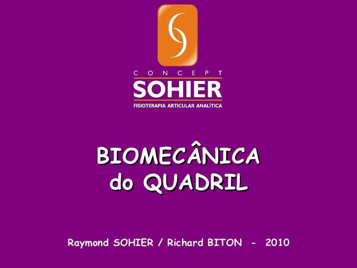 Raymond SOHIER / Richard BITON  -  2010 BIOMECÂNICA do QUADRIL