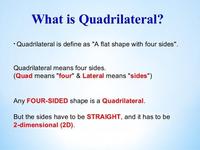 quadrilateral definition - photo #43