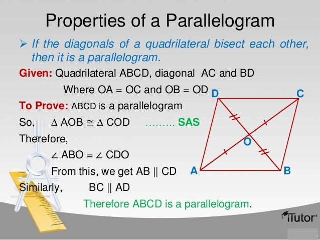 Quadrilaterals abcd is a parallelogram 7 ccuart Gallery