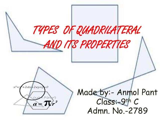 Quadrilateral properties (video)