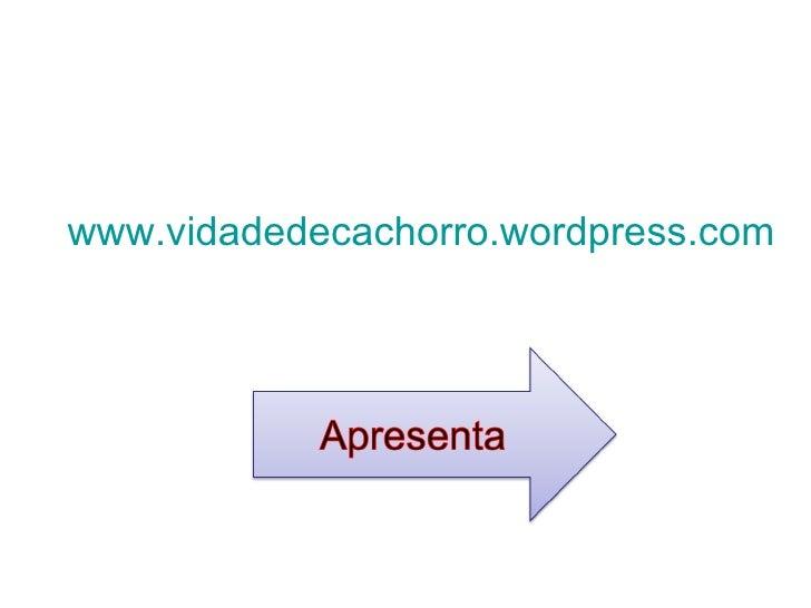 www.vidadedecachorro.wordpress.com