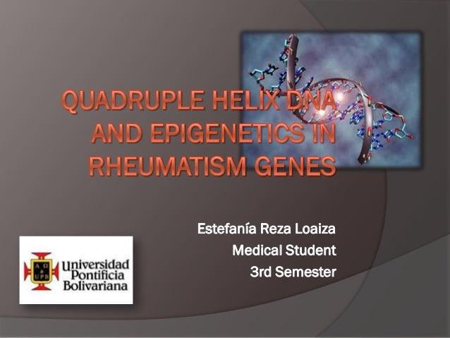 Estefanía Reza Loaiza     Medical Student        3rd Semester