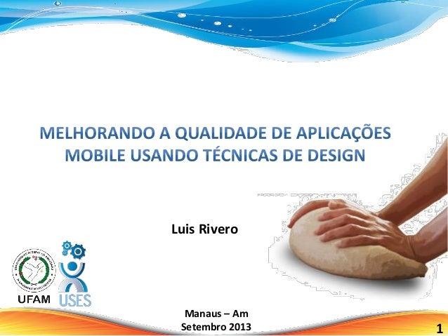 Luis Rivero 1 Manaus – Am Setembro 2013