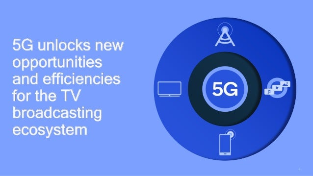 6 5G unlocks new opportunities and efficiencies for the TV broadcasting ecosystem