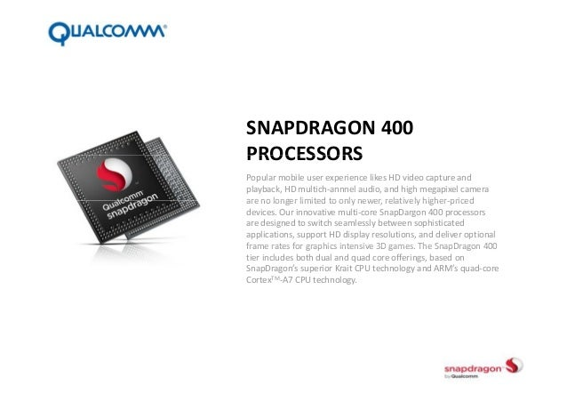 Qualcomm SnapDragon 400-based Android Wear