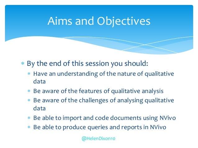 Qualitative data analysis using NVivo Slide 2