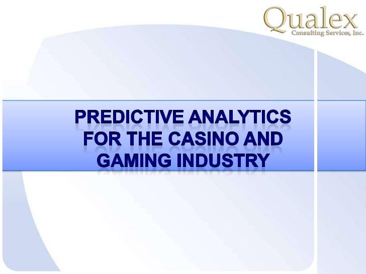 Casino gaming analytics barcelona gambling casinos