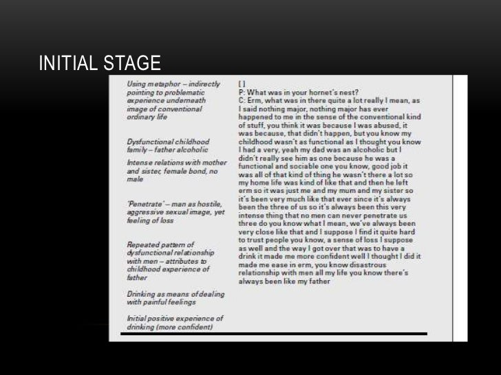 INITIAL STAGE