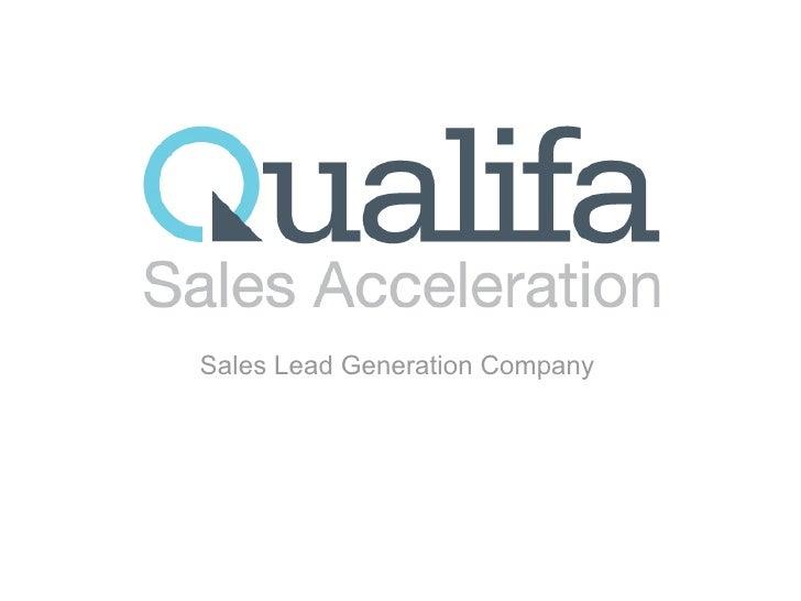 Sales Lead Generation Company