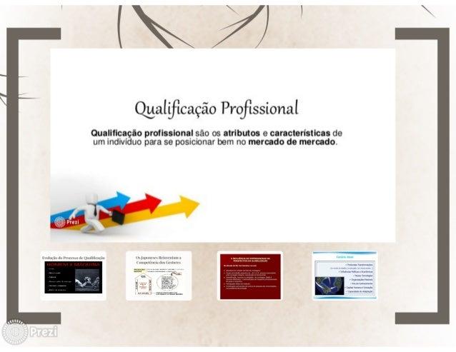 &$941;     _ É  e /    /   ClLiaIiflCaÇãO Profissional  Qualificação profissional são os atributos e caracteristicas de um...