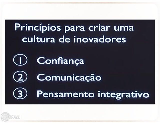 """""""Il x¡  _ ,2- (p.  .  36!'.  . _ (é.    _t3 . me  ? fixa _ a a Principios para criar uma cultura de inovadores  ® Confianç..."""