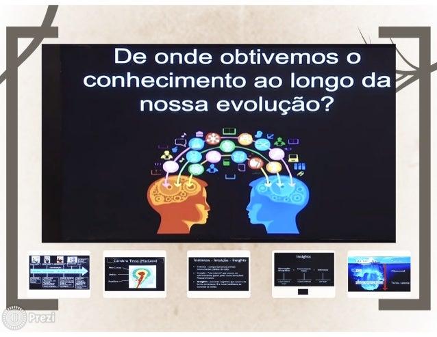 """í,  e r xx : e  v De onde obtivemos om .  conhecimento ao longo da Ê"""" nossa evolução?"""