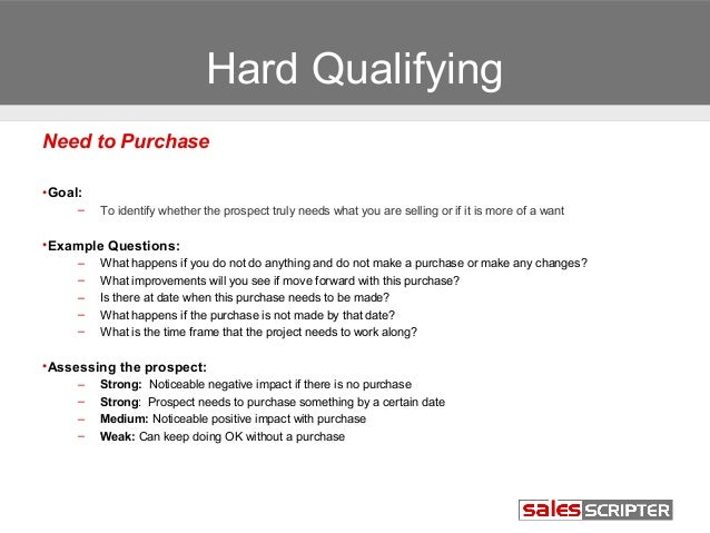 How To Effectively Qualify Sales Prospects
