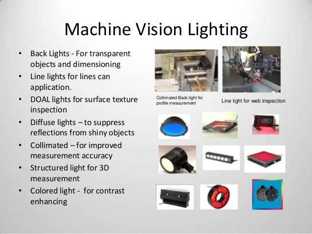 Awesome 3D Smart Cameras; 12. Machine Vision Lighting ...