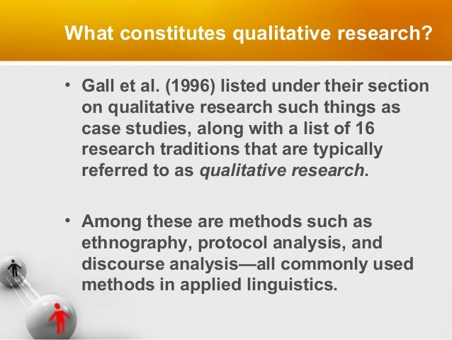 Qualitative Research in Applied Linguistics   A   J  Heigham