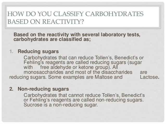 Qualitative analysis of carbohydrates Slide 3