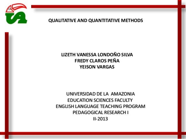 UNIVERSIDAD DE LA AMAZONIA EDUCATION SCIENCES FACULTY ENGLISH LANGUAGE TEACHING PROGRAM PEDAGOGICAL RESEARCH I II-2013 LIZ...