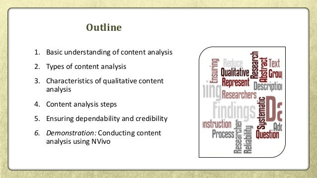 Qualitative Content Analysis for Systematic Reviews Slide 2