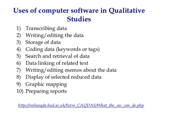 qualitative data analysis software free