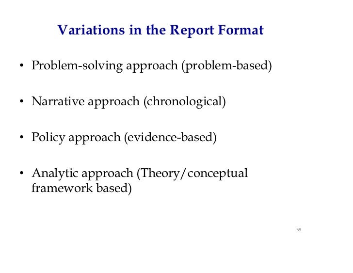 Qualitative data analysis – Data Analysis Format