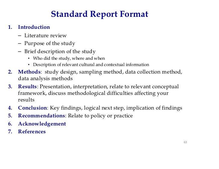 Data analysis how to write
