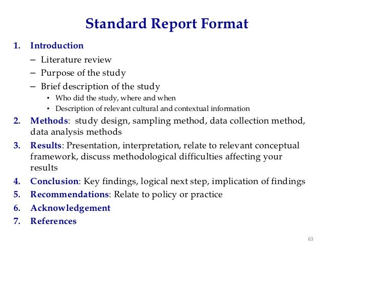 writing report sampling An outline of an example report and a summary of the main elements a report should include includes a report writing checklist for use by students.
