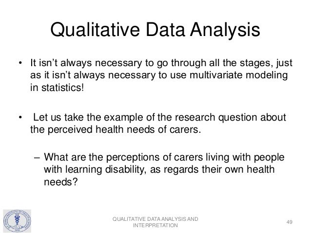 Qualitative Data Analysis And Interpretation 49 638gcb1459264378