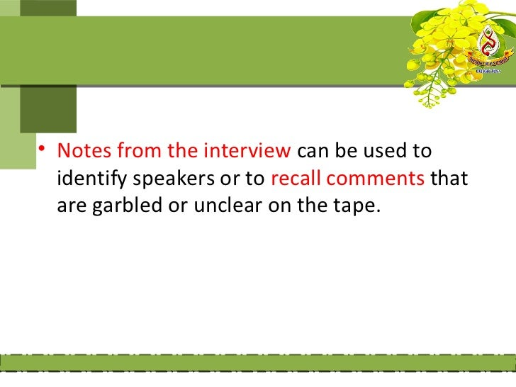 Advantages and disadvantages of                  the interview:       Advantages:       1- provide further information whe...