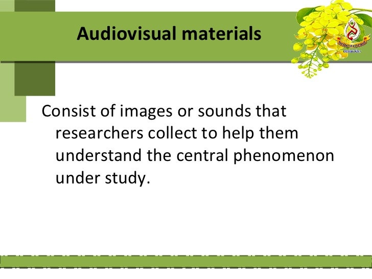 The advantages and disadvantages of       using visual materials    Advantages:    1- people easily relate to images becau...