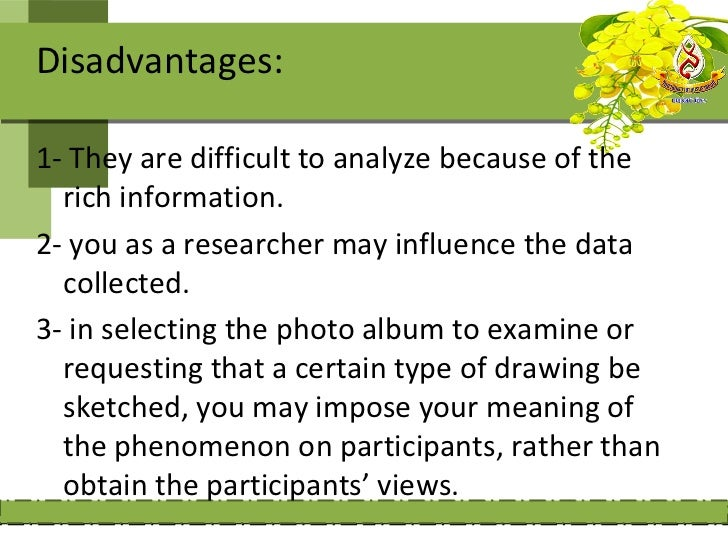 Steps of collecting             audiovisual :materials1- determine what visual material can provideinformation to answer r...