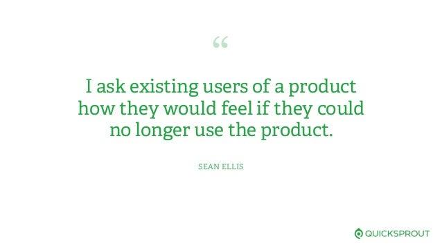 Measuring & Understanding Product/Market Fit Qualitatively Slide 2