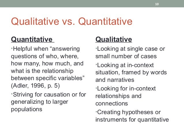 Messy Research: How to Make Qualitative Data Quantifiable ... Qualitative Data Vs Quantitative Data