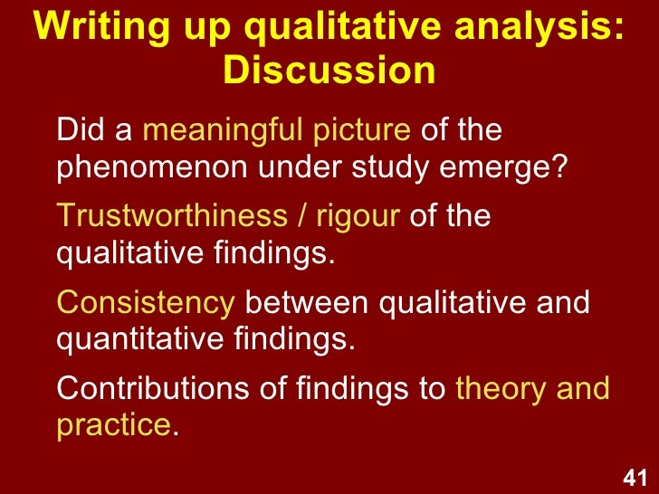 How to Write a Qualitative Research Paper - YouTube