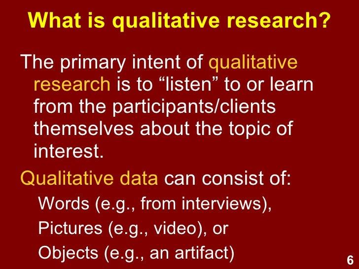 Critiquing Qualitative and Quantitative Research - Assignment Example